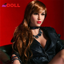 High Quality 140cm/148cm/158cm/165cm American Beauty Lifelike Big Ass Sex Dolls Real Silicone Sex Dolls Real Dolls Rubber Woman(China)