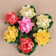 PU Flowers Soft Real Touch Artificial Flower Lotus For Wedding Home Garden Decoration Festival Day Floral Art