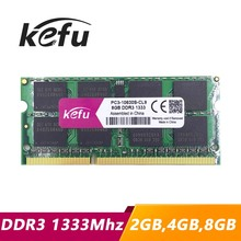 Sale ddr3 ram 4gb 2gb 8gb 1333 1333Mhz pc3-10600 so-dimm laptop, memory ddr3 1333mhz 4gb pc3 10600 sdram notebook, ddr3 1333 4gb(China)
