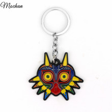 Legend Of Zelda Game Majoras Mask Colorful Owl Animal Triangle Pendant Charm Keychain Jewelry Christmas Gifts For Women And Men