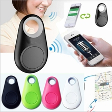 2017 Bluetooth 4.0 Key Finder Anti-lost Alarm Mini Finder Locator GPS Tracker Child Pet Smart Tracker for iPhone for Samsung