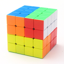 4x4x4 Exfoliate colours Magic Cube Pocket Cube Speed Puzzle Cube Educational Toys for children cubo magico