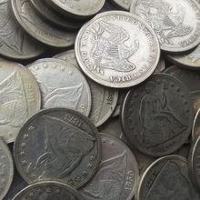 Full Set (1840-1873) 34pcs Seated Liberty Silver Dollars One Dollar Coins Retail Wholesale