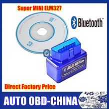 Super ELM327 Mini Bluetooth V2.1 Works On Android Tourque Auto OBD2 Can Bus Diagnostic Scan Tool Free Shipping