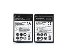 2 PCS Phone Replacement 1500mAh Battery Batteries For HTC Desire Z T-mobile G2 Desire Z S Incredible S S510e Celular Bateria(China)