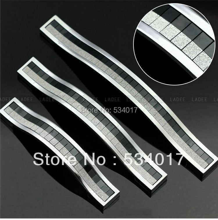 10pcs Modern Kitchen Cabinet Handles and Drawer Pulls( C.C.160mm Length 170mm)<br><br>Aliexpress