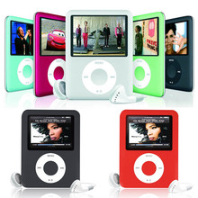 8GB 16GB 32GB 3th MP4 Player FM+Ebook+Voice Recorder MP3 with cable and earphone 50PCS Free DHL Shipping