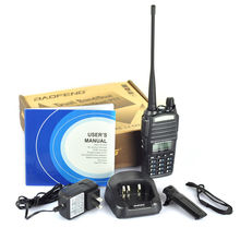 100% Brand NEW BAOFENG Authorized 5W Dual Band 128 Channels two way radio Baofeng UV82 Ham Radio Transceiver(China)