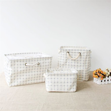 Graceful Japanese Style Crafts Basket Cosmetic Storage Box Tins House Keeper Furnishing Organizer Decorative Desktop Sundries