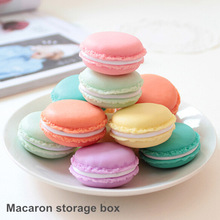 Macaron storage box organizer for jewelry Mini Candy Color 4 Colors Hot sale 2015 ma