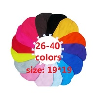 10piece/lot many colors available cotton baby hat cap boys girls kids beanie Skull Caps Infant gift