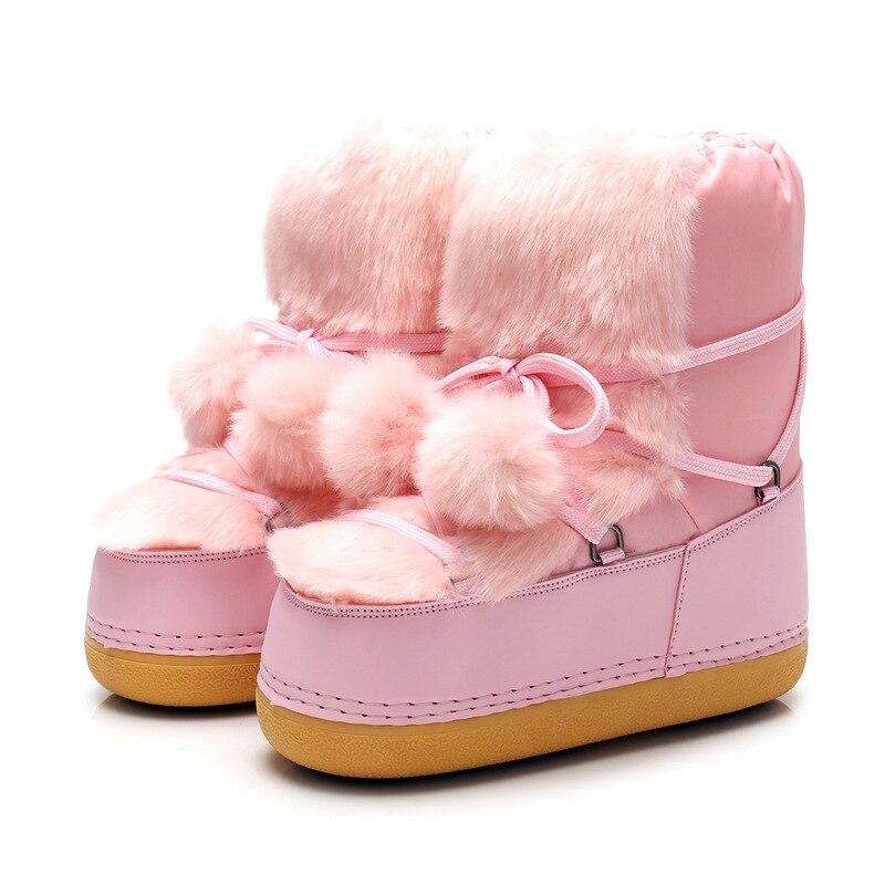 Detail Feedback Questions about ENPLEI Snow Boots Women Shoes Winter ... 37fd612e0026
