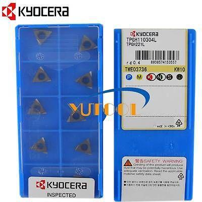 KYOCERA Carbide insert TPGH110304L KW10 CNC boring carbide insert 10pcs<br><br>Aliexpress