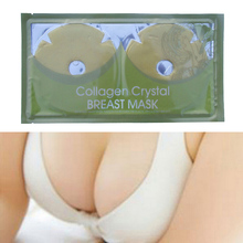 1 Pair Hot Sale Collagen Crystal Gold Breast Chest Masks Anti Ageing Skin Care Mask Wholesale