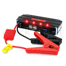 High Capacity Multi-Function Car Jump Starter Battery Chager Emergency 4USB Portable Mobile Phone Power Bank Jump Leads