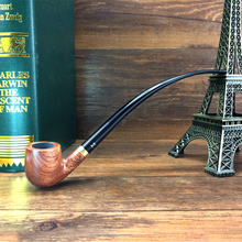 Smoker 6 Smoking Tools 9'' Long Classic Reading Tobacco Pipe Rosewood Smoking Pipe For Weed Wooden Weed pipe Gift Set  302BH