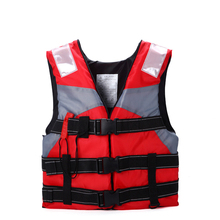 Professional Life Vest Children Swimming Drifting Snorkeling Fishing Buoyancy Vest With Whistle Watersport Life Jackets Kids