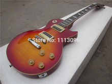 Electric guitar free shipping lp slash guitar+maple flame/electric guitar