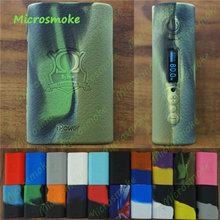 RHS ModShield for Eleaf iPower 80W 5000mAh TC kit mod Silicone Skin Case Cover thicker Wrap 19 COLORS