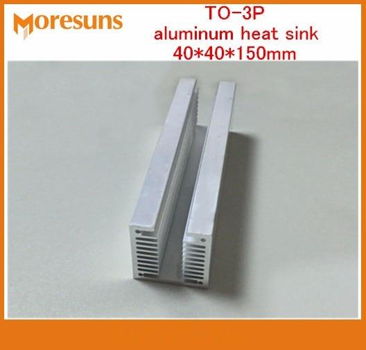Aluminum U Type TO-3P Heat Sink Dense Tooth Heat Cooler Fin Cooling Radiator 100 x 40 x 40mm for Raspberry Pi 1//2 //3 Generation Heat Sink