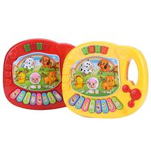 Good Quality hot selling Baby Kids Musical Toy Educational Piano Animal Farm Developmental Musical Toy(China)