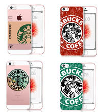 Brand Fashion Starbuck coffee Cup Logo Soft Silicone TPU Phone Cases Cover for Apple iphone 5 5s 6 6S Plus 7 7Plus SE Funda Capa