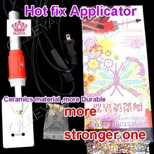 Iron-on Hot Fix Hotfix Applicator Wand Crystal Gem Rhinestone 1pcs/lot Heatfix Tool look for dealer agent ! Y2623(China)
