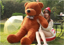 Free shipping lovely giant teddy bears stuffed animal /big bear plush toy/large teddy bear/huge teddy bear 90cm