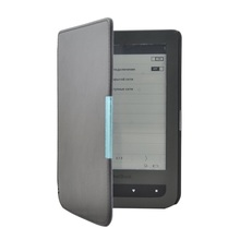Solque PU Leather eBook Case For Pocketbook 626 Plus Ultra Slim Magnet Flip Cover For Pocket Book Touch Lux 3 eReader Cases(China)