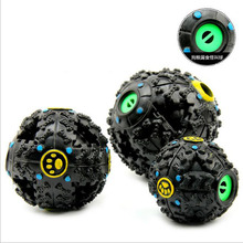 5PCS Plastic Petcircle Trumpet Sound Leakage Food Ball Dog Toy Pet Shrieking Ball Puzzle Resistant Teeth Bite(China)
