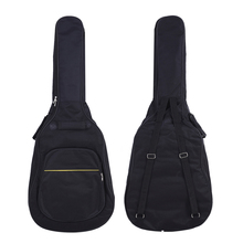 "41"" Acoustic Classical Guitar Bag Case Backpack Adjustable Shoulder Strap Portable 4mm Thicken Padded Black(China)"