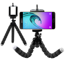 Flexible Octopus Leg Phone Holder Smartphone Accessories Stand Support Mobile Tripod for Samsung Galaxy A310 A510 J120 On5 On7(China)