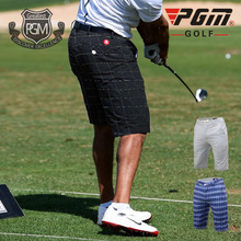 PGM Authentic Golf/Tennis/Baseball Shorts Thin Dry Fit Plaid Shorts Male Summer Trousers Clothes Golf Apparel Plus Size 2XS-3XL