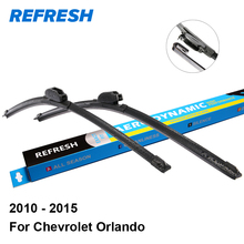 "REFRESH Beam / Hybrid Wiper Blades for Chevrolet Orlando 24""&19"" Fit Hook Arms 2010 2011 2012 2013 2014 2015"