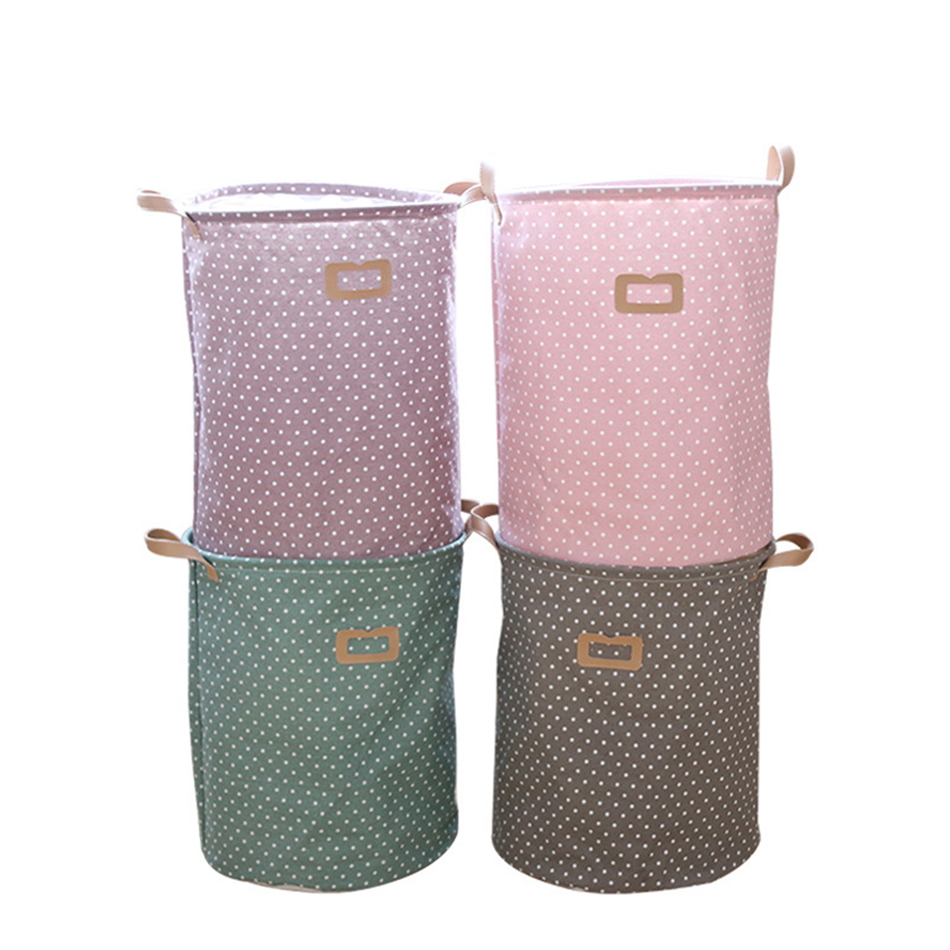 01 MICCK Storage Basket Dirty Clothes Sundries Waterproof Laundry Basket Organizers Washing Clothes Toy Linen Folding Storage Box