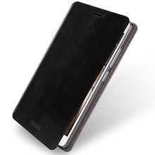 Mofi Steel Plate Inside Case For Lenovo Vibe P1m Case Flip Pu Leather Case For Lenovo P1m Stand Cover(China)