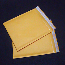 10pcs 11 Sizes  Kraft Bubble Mailing Envelope Bags Yellow Bubble Mailers Padded Envelopes Packaging Shipping Bags