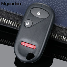Mgoodoo Keyless Entry Remote Key Shell Case Fob For Honda Accord Element Civic CR-V 2+1 Buttons Replacement Key Case Car-covers