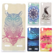 Buy Silicone Case sFor Lenovo A6000 case Coque Lenovo A6000 A6010 Plus K3 K30-T Owl cartoon Painting Soft TPU Cover (5.0 inch) for $1.36 in AliExpress store