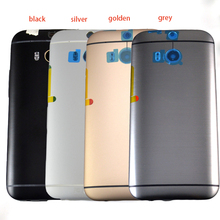 New Silver black grey Gold Rear case Battery door Housing back Cover Full Complete replacement parts For HTC One M8 831c