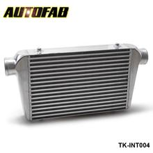 AUTOFAB - Turbo Racing Front Mount BAR&PLATE Aluminum Intercooler  450x300x76 mm 3''(76mm) I/O Turbo Inter Cooler AF-INT004