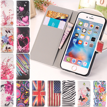 Arts Print Vintage Tower Luruxy Wallet PU Leather Flip Stand Holder Cover For iPhone 5 5s SE Fashion Phone Case 2016 New