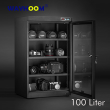 Automatic Dry Box Digital Contorl Moisture-proof Dry Cabinet Camera SLRS Lens Dehumidifier LED Display Touch Screen