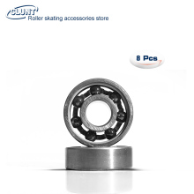 China supply 608 hybrid ceramic Si3N4 bearing for skateboard 7balls(China)
