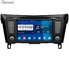 TOPNAVI 8'' Quad Core S160 Android 4.4 Car DVD Multimedia Player for Nissan Qashqai 2014 Audio Radio Stereo 2DIN GPS Navigation(China)