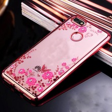 Buy Honor 7A Pro Case Huawei Honor 7A Pro Prime Bling Crystal Flower Butterfly Soft TPU Silicone Case Huawei Y6 2018 for $1.34 in AliExpress store