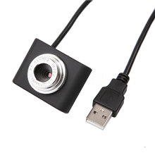 2015 Mini USB 2.0 30M Webcam Camera Web Cam 30 Mega Pixel Webcam Camera Black Color For Skype Computer PC Laptop
