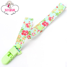 Baby Pacifier Clip Chain Ribbon Dummy Holder Chupetas Soother Pacifier Clips Leash Strap Nipple Holder For Infant Feeding