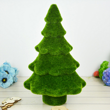 32X18 cm Artificial Pine Trees Fake Flower Plant Komatsu Moss pine tree Table display needles Christmas Home and Wedding Decor(China)
