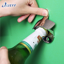 Stainless Steel Wall Mount Bar Beer Glass Cap Bottle Opener With Screws New Hot EMS Free Shipping